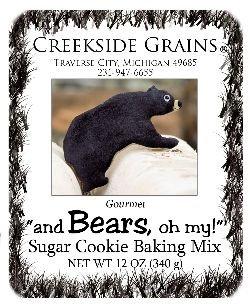 Bear Sugar Cookie