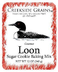 Loon Sugar Cookie