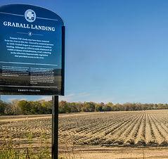 Graball Landing Commemorative Sign.jpg