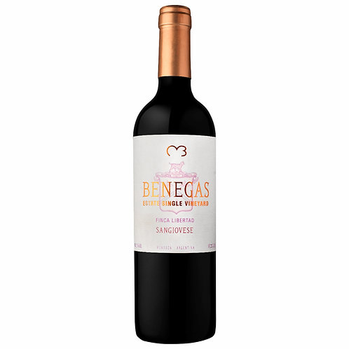 Benegas Estate S. Vineyard F. Libertad Sangiovese 2015