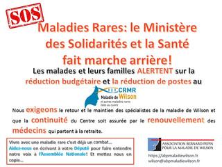 Maladies Rares: le Ministère des Solidarités et la Santé fait marche arrière!