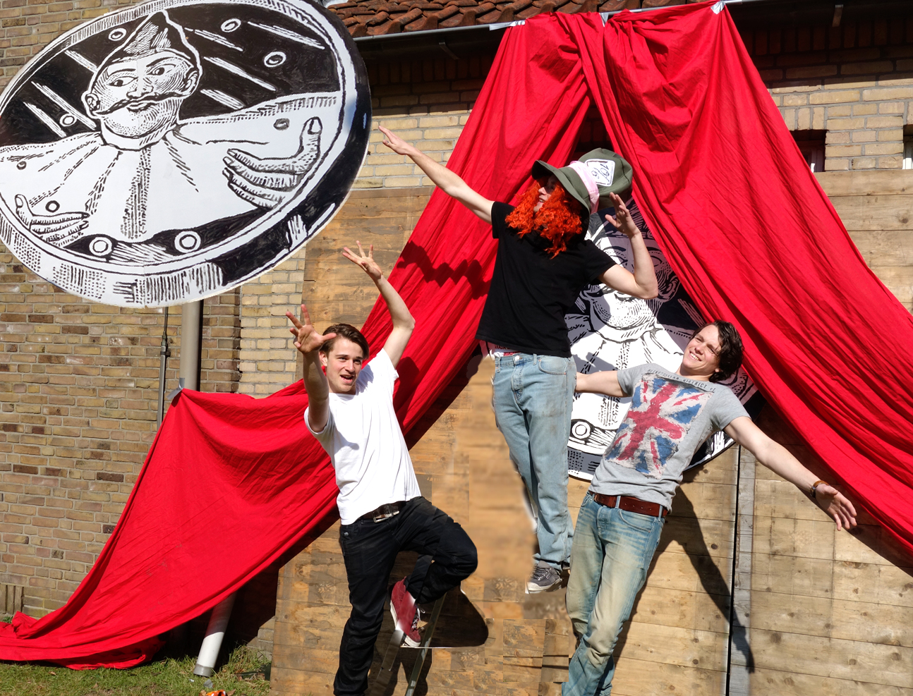 2014-Studentencircus-CirqueFolie-ondernemers HVA-fotocartoon AvH-1