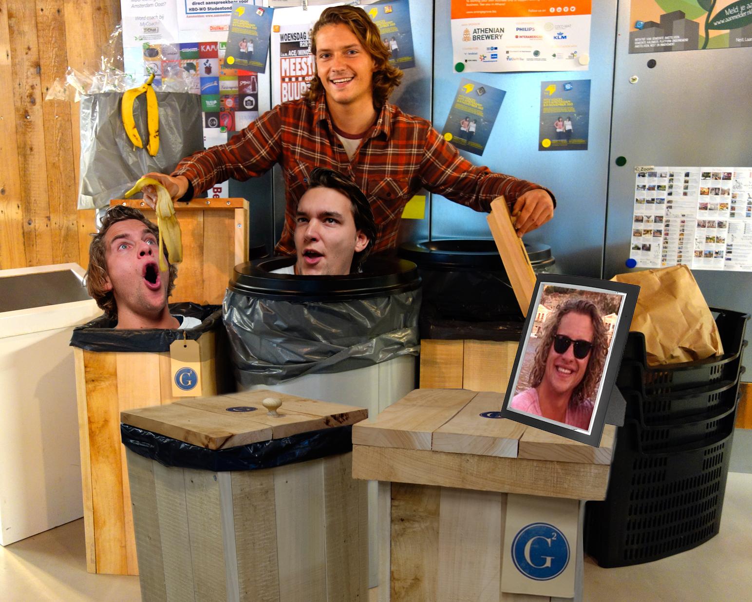 2013-Garbage bin-ondernemer HVA-fotocartoon AvH -1