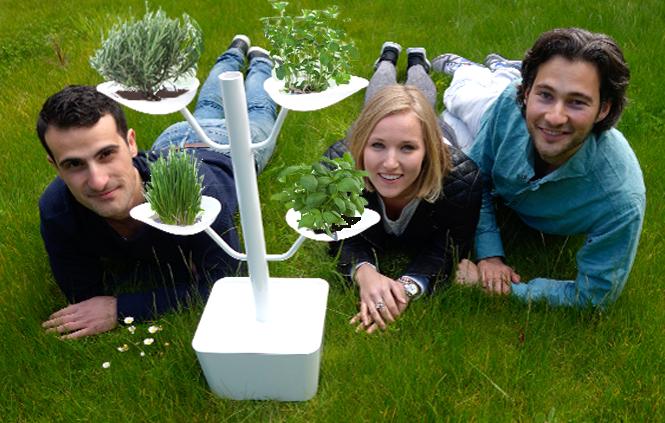 2014-Binnentuin-city farming-ondernemers HVA-fotocartoon AvH-1