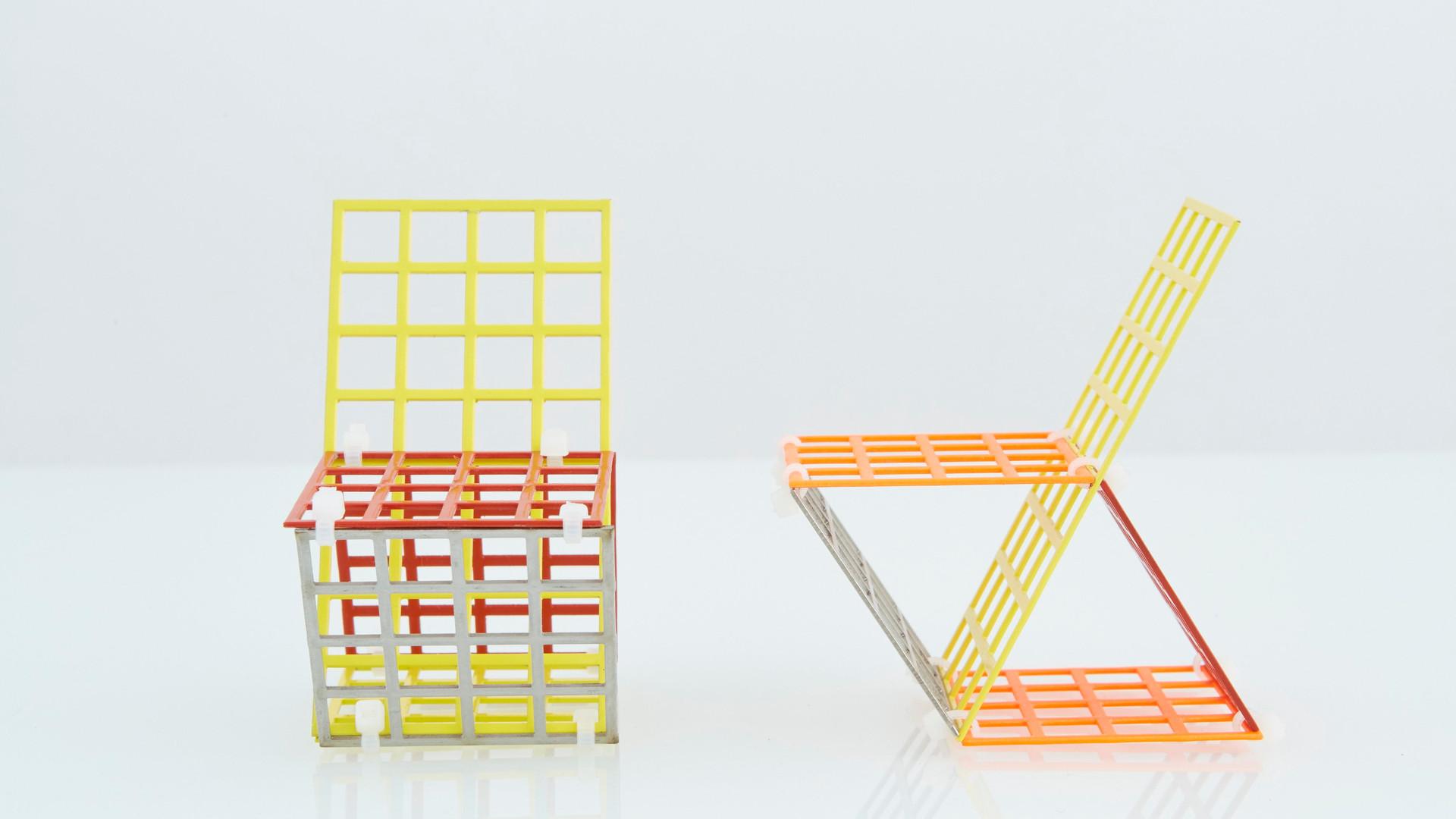 Mesh Chairs, 2016