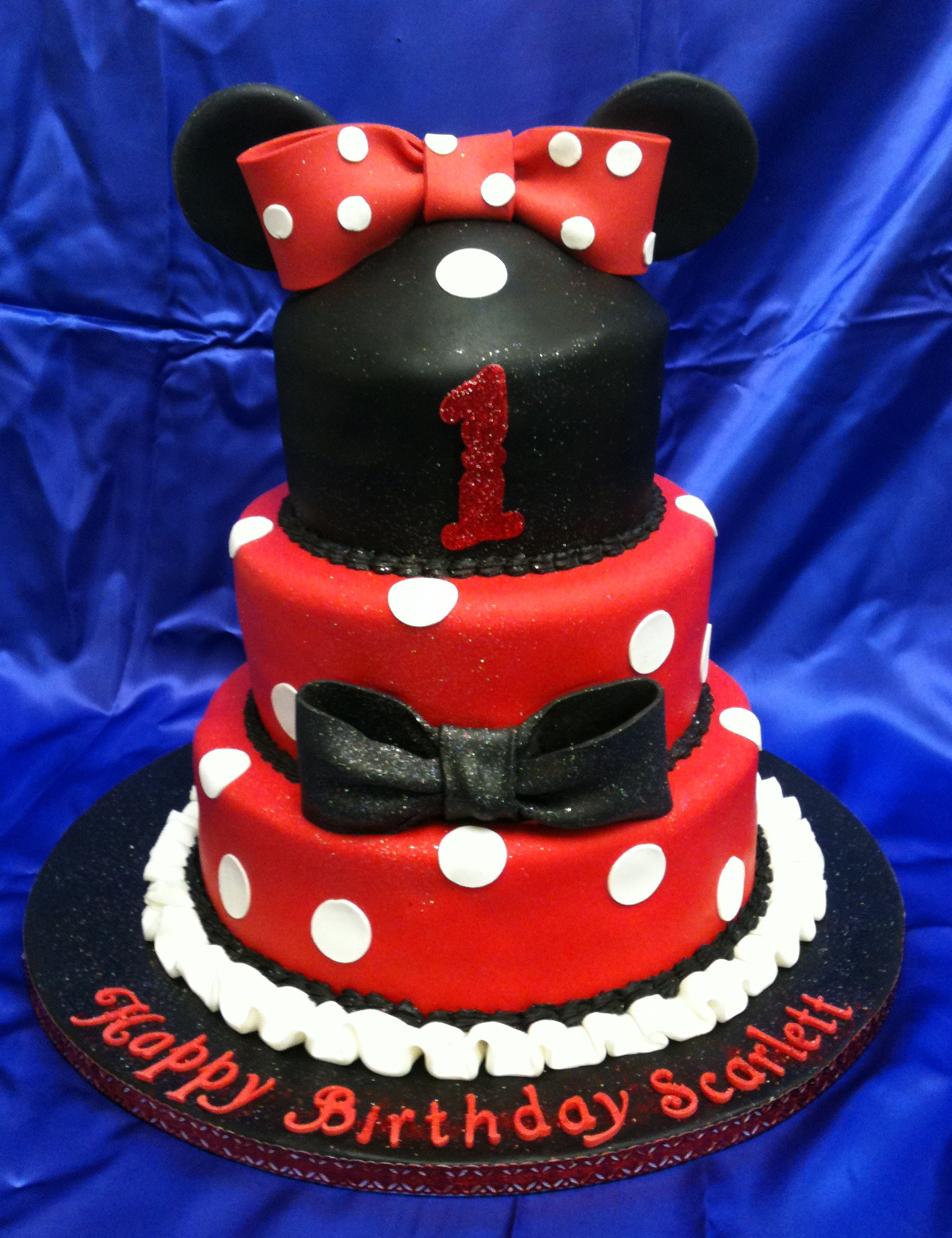 Minnie Mouse - 1st Birthday