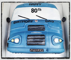 80th Birthday Bus