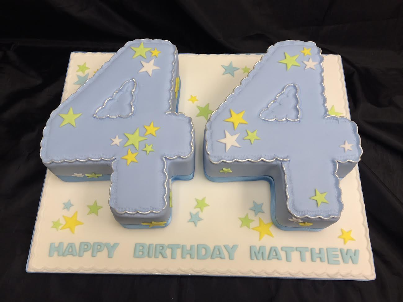 Number 44 Cake