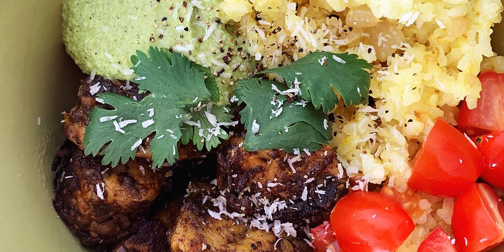 Vegan Cooking Class - Indian Tandoori Tempeh Bowl
