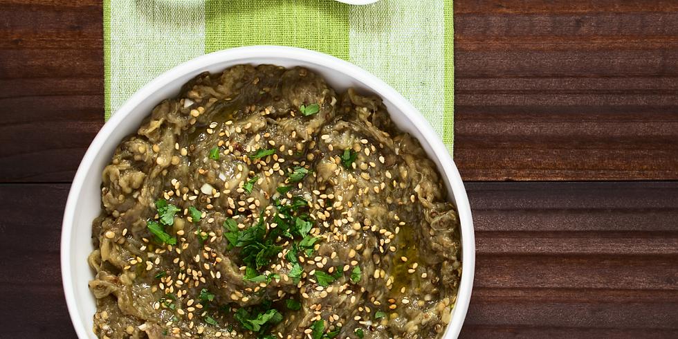 Greek Cuisine: Pastisio + Melizanosalata