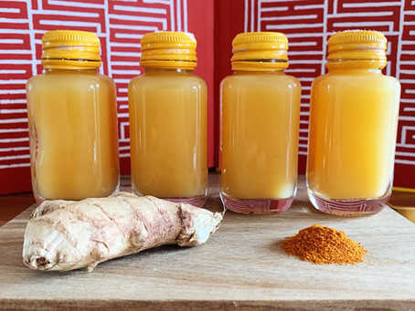 Immunity Boosting Ginger Shots