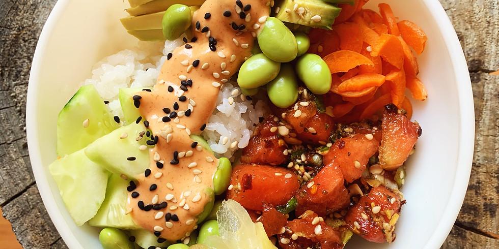 Vegan Cooking Class - Japanese Watermelon Sashimi Bowl