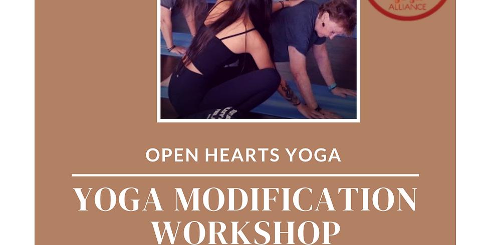 Yoga Modification Workshop