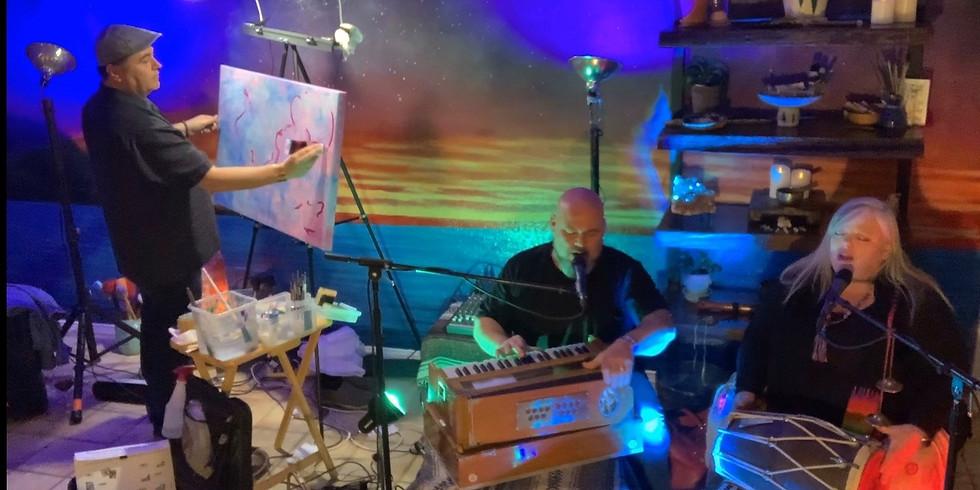 Bhakti House Band:  Painting the Music