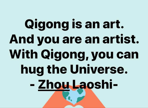 Sharing Qi Gong for Personal and Global Healing