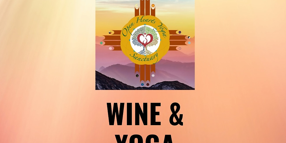 Bottoms Up! Wine Yoga