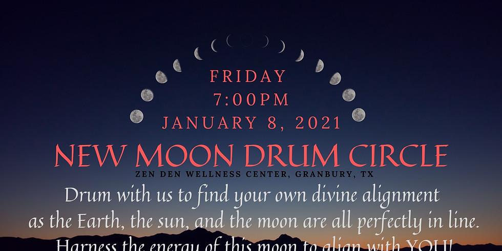 New Moon Drum Circle