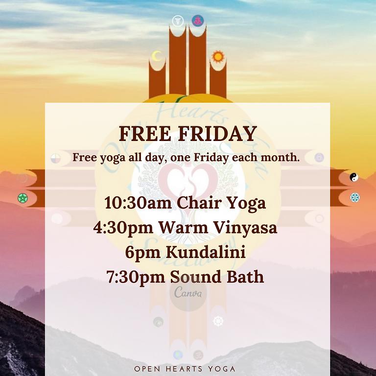 FREE YOGA FRIDAY