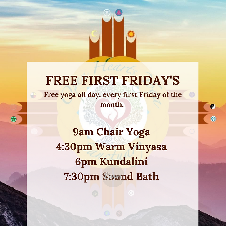 FREE FIRST FRIDAY'S