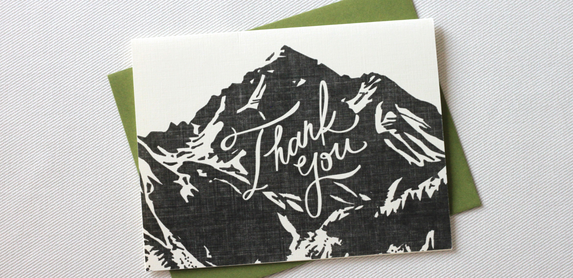 Aspen Love Thank You Cards