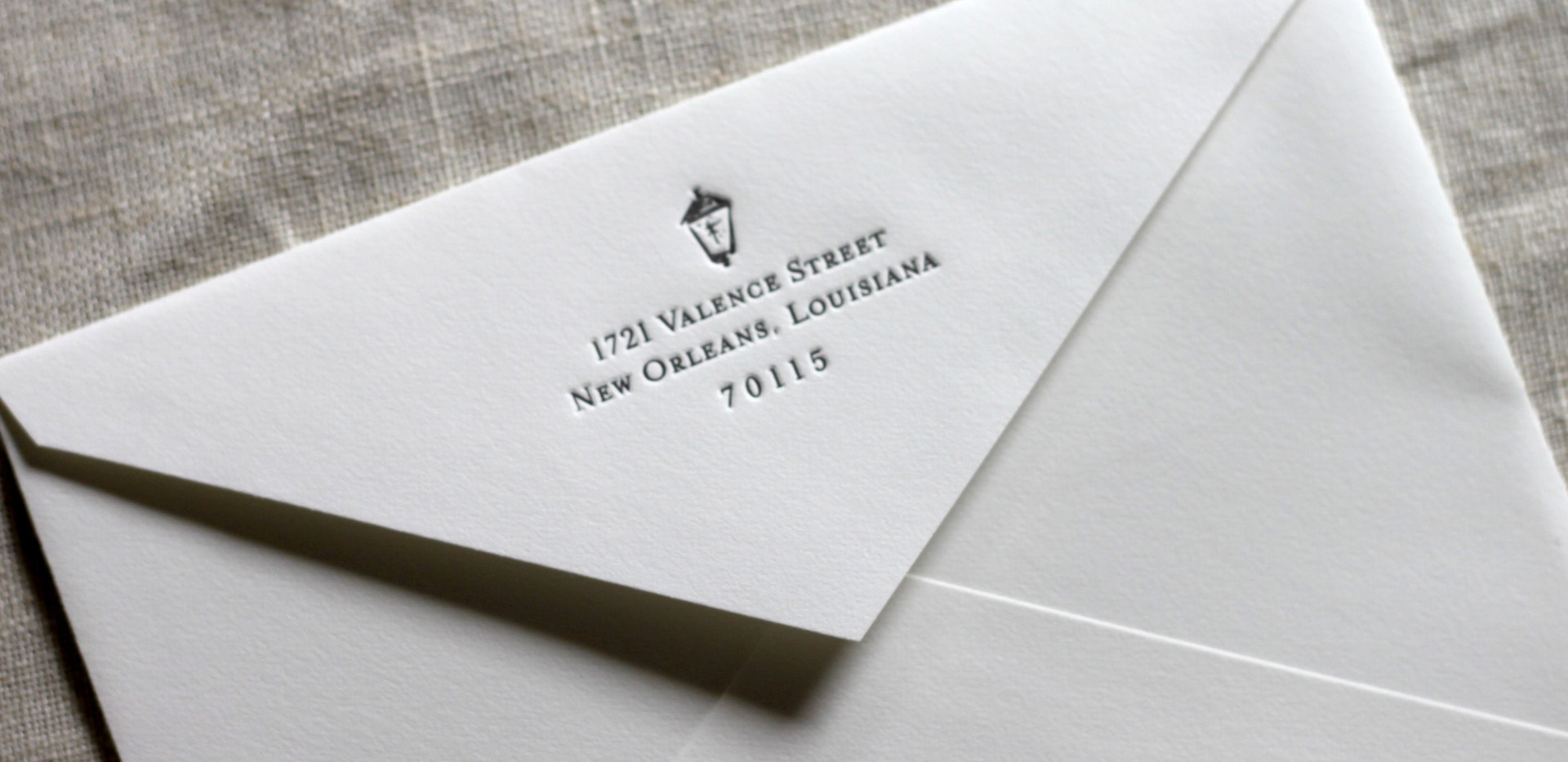 French Quarter Rehearsal Party Envelope