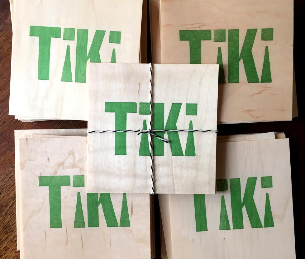 Tiki Coasters
