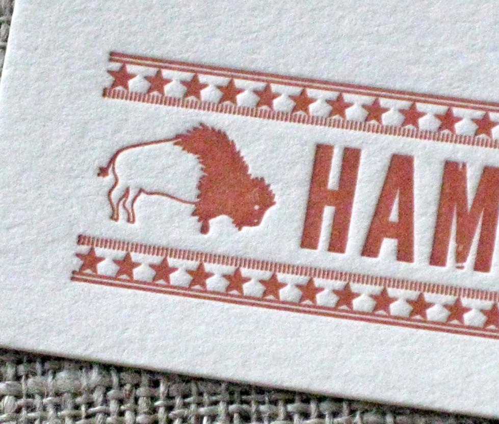 Hammerdown Custom Stationery
