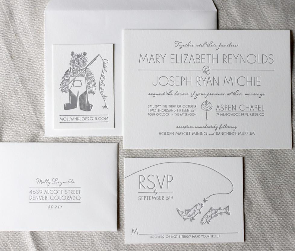 Aspen Fall Wedding Collection