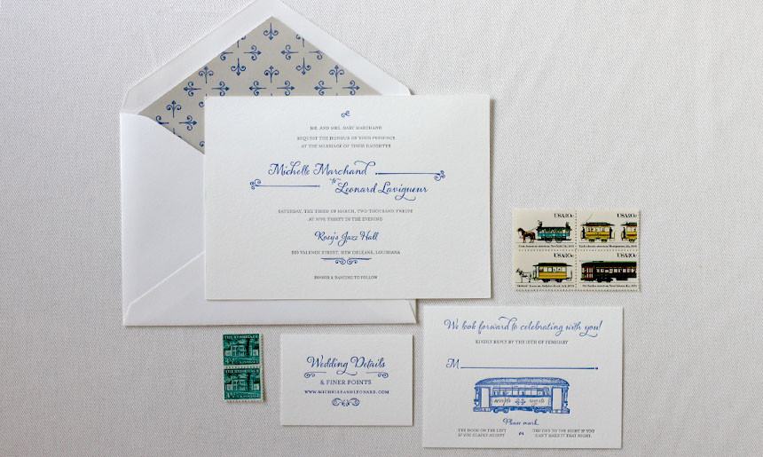 Streetcar Wedding Collection