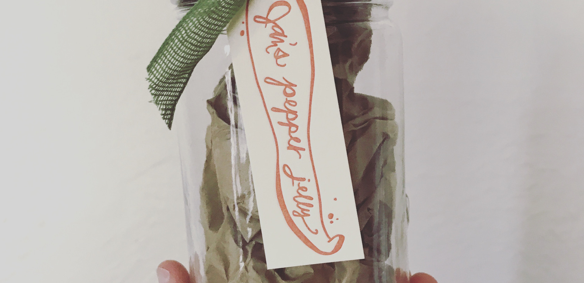 Hop Pepper Jelly Tag