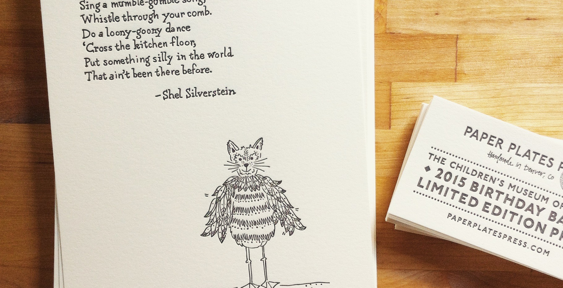 Shel Silverstein Print