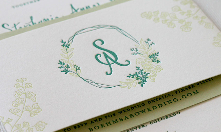 Summer Greenery Wedding Collection