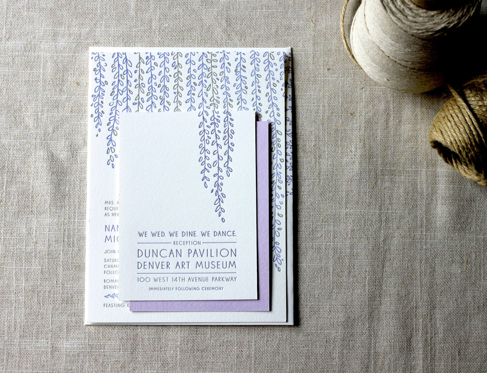 Wisteria Wedding Collection