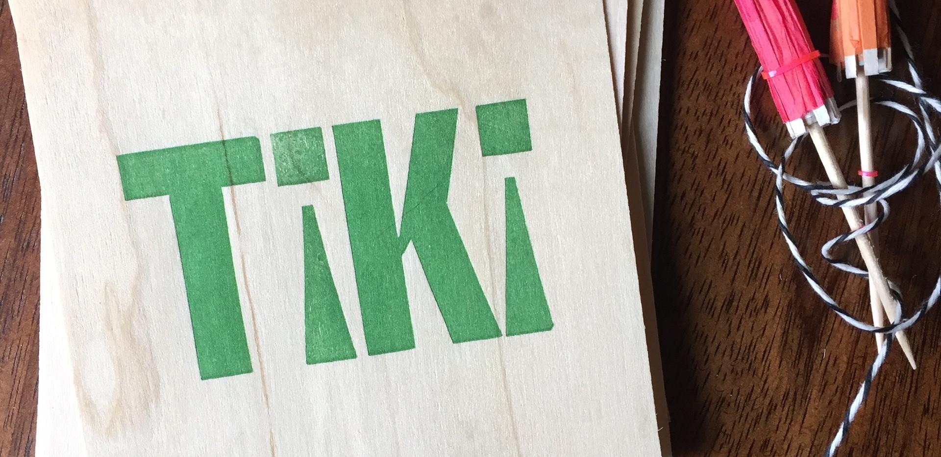 Tiki Coaster