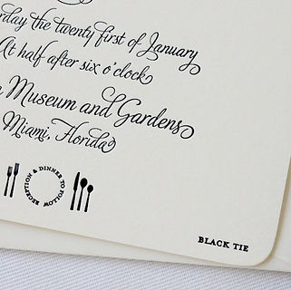 3_Black Tie Wedding_Invitation_Detail 2.