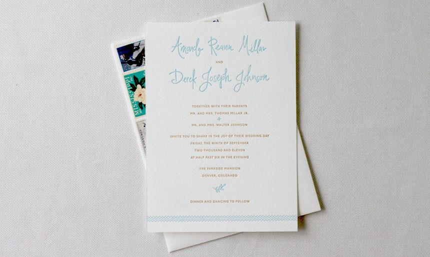 Mason Jar Wedding Invitation