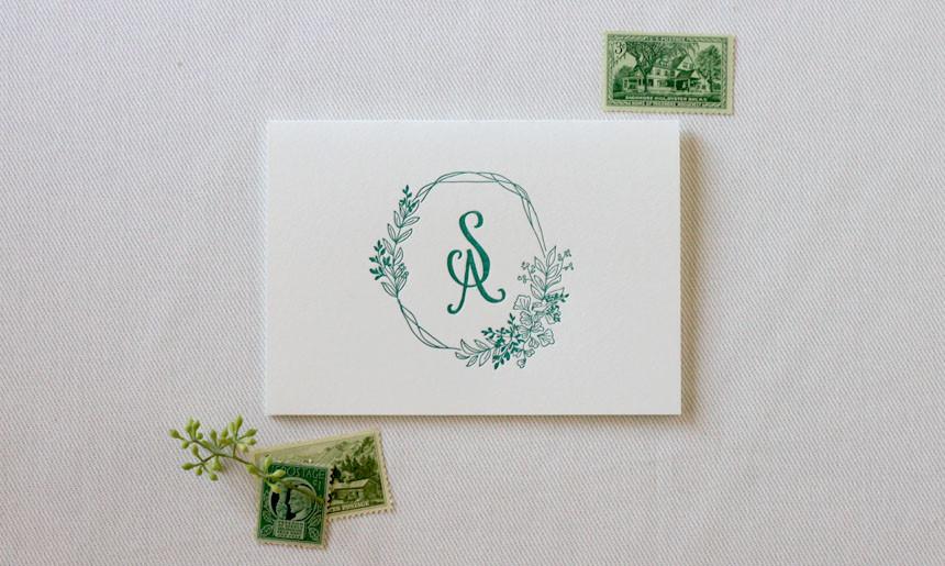 Summer Greenery Wedding Stationery