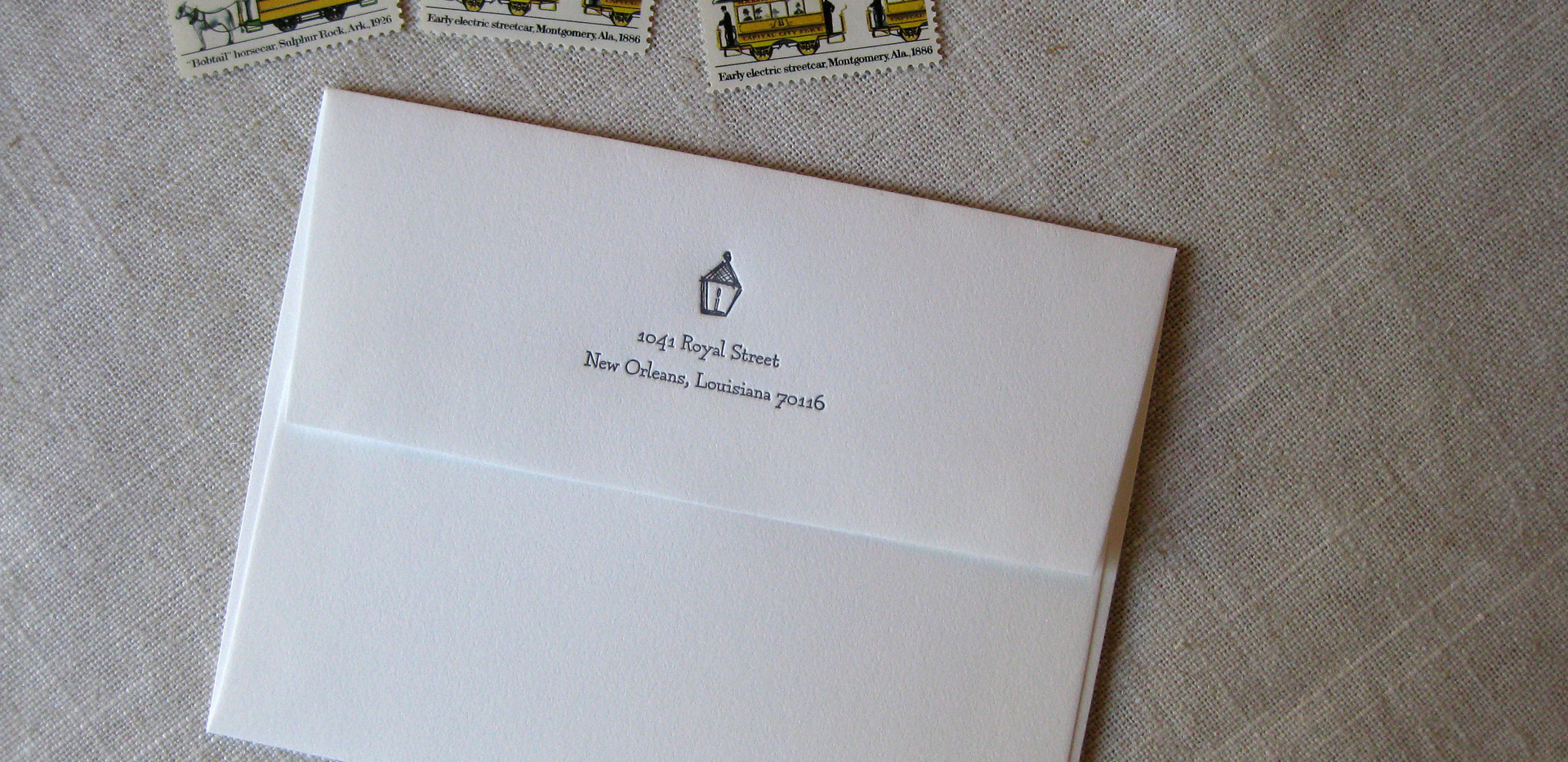 French Quarter House Stationery