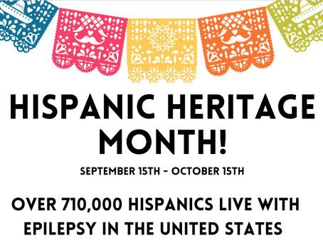Recursos en Español para epilepsias raras, celebrando el Mes de la Herencia Hispana (9/ 15-10/15)