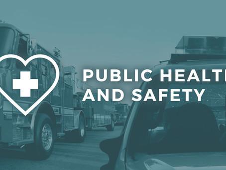 VACANCY - Public Health & Safety Representative: Term ends Spring 2025.