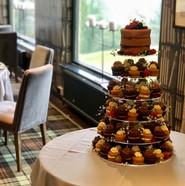 Cake with Mini Cakes