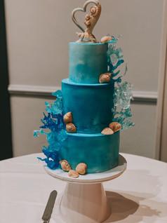 Medium 3 Tier Fondant Cake