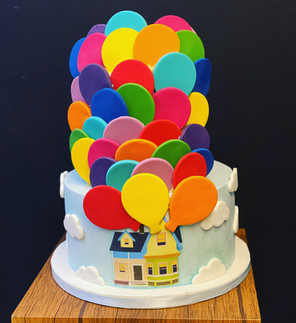 Disney's Up Birthday Cake