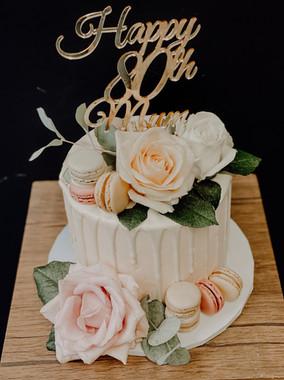 Buttercream Drip Cake