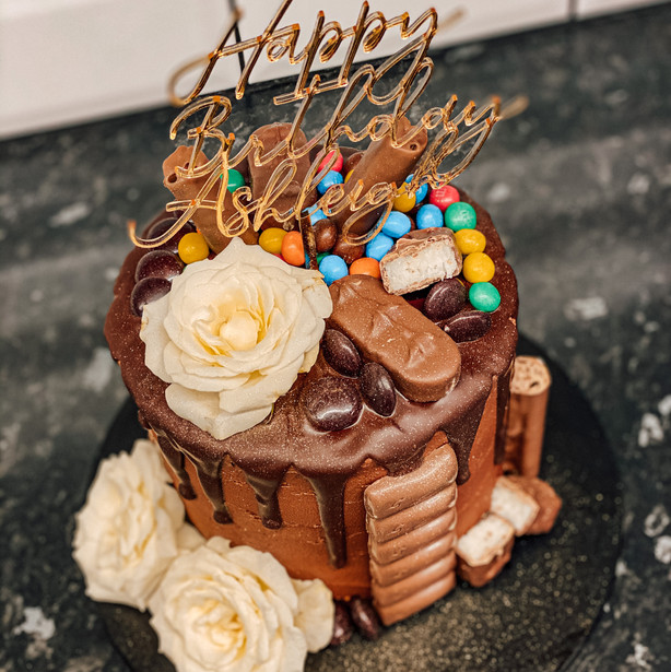 Chocolate Favourites Cake