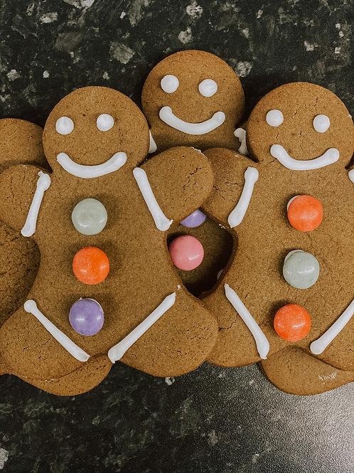 12 Gingerbread Men