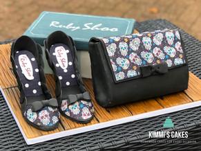 Ruby Shoo & Handbag Cake
