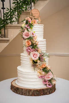 Large 4 Tier Buttercream Cake