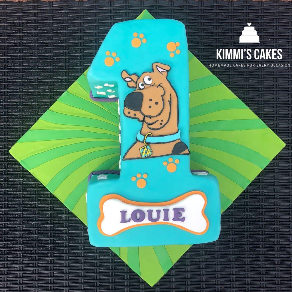 Scooby Doo 1st Birthday Cake