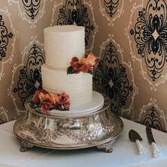 Large 2 Tier Buttercream Cake